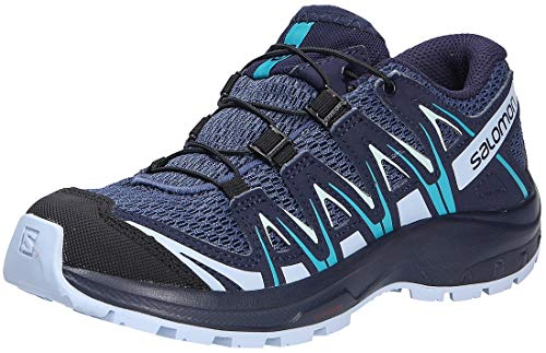 Salomon XA Pro 3D J, Zapatillas de Deporte, Azul (Blue Indigo/Kentucky Blue/Capri Breeze), 34 EU