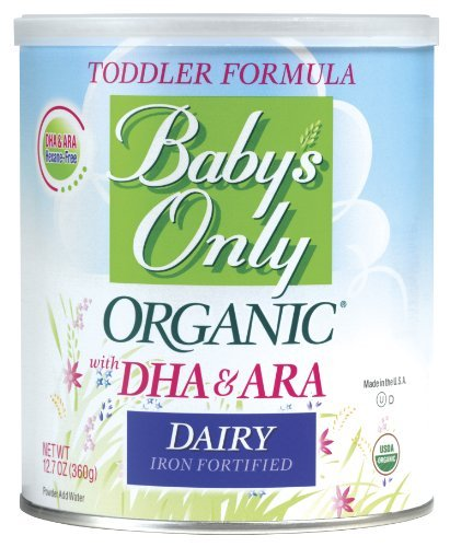 Baby's Only Organic Dairy with DHA & ARA Fromula, 12.7 Ounce Kids, Infant, Child, Baby Products bébé, nourrisson, enfant, jouet