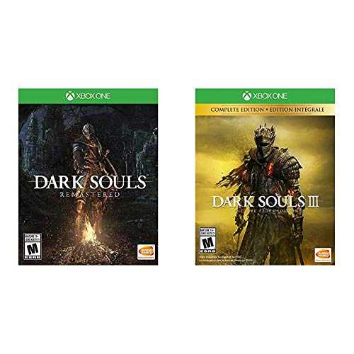 Dark Souls Remastered - Xbox One & Dark Souls III: The Fire Fades Edition - Xbox One
