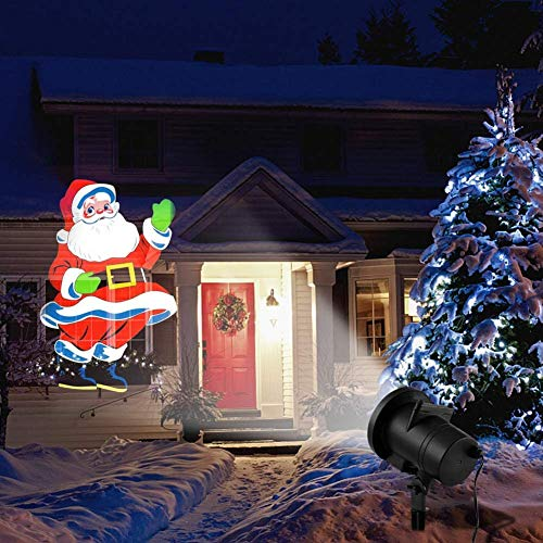 Install a Christmas Garage Projector