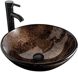 Terrific Amazon Com Glass Vessel Sinks Bathroom Sinks Tools Download Free Architecture Designs Embacsunscenecom