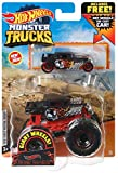 Hot Wheels Monster Trucks 1:64 Scale Bone Shaker, Includes Hot Wheels Die Cast Car