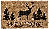 Home & More 121681729 Elk Forest Welcome Doormat 17' X 29'