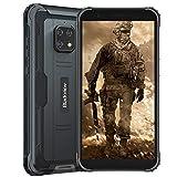Blackview BV4900 (2020), 5.7' Android 10 4G Cellulare Robusto, 3GB RAM 32GB ROM Espansione da 128 GB, Fotocamera Impermeabile 8 MP + 5 MP, Batteria da 5580 mAh, Doppia SIM GPS NFC, Nero