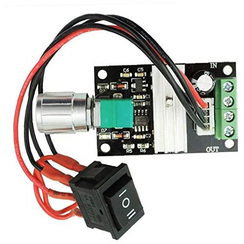 Controlador De Velocidad Del Motor Cc 6v 12v 24v 28v 3a 80w 1203bb Pwm Conductor Del Motor De Conmutador De Marcha Atrás De Velocidad Ajustable De Control De Distribución