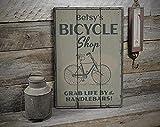 Free Brand Letrero de la tienda de la bicicleta, letreros de madera de la tienda de la bicicleta,...
