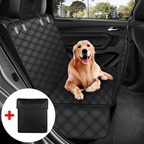 Petacc Hundedecke für Auto Rückbank, Hundedecke Kofferraum Wasserdicht und rutschfest für Komplett Abgedeckt Haustier Autositz Umfassen EIN Autoschondecke Hund Rücksitz Tragetasche