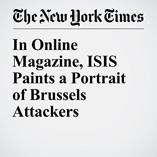 In Online Magazine, ISIS Paints a Portrait of Brussels Attackers cover art