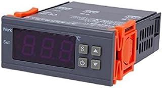 Homefunny AC 10A/ 90V-250V デジタル温度調節器 コントロール デジタルサーモスタット -50℃~110℃ MH1210WAC 10A/ 90V-250V デジタル温度調節器 コントロール デジタルサーモスタット -50...