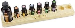 Essential Oil Box Essential Oil Display Rack Solid Wood Storage Box Pine Oil Packaging Gift Box 9 Grid (Color : Beige)