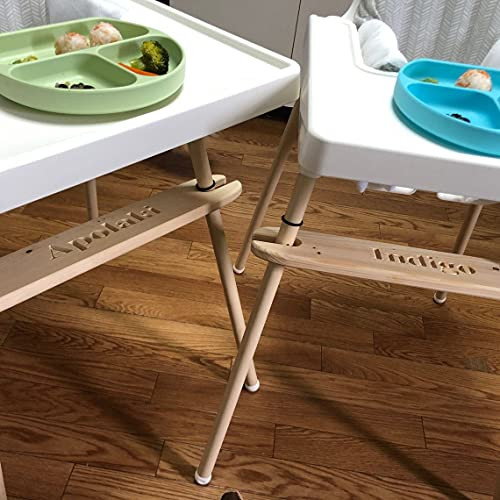 Footrest for IKEA Antilop Highchair - Personalized, Adjustable foot rest...