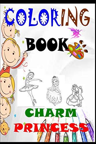 CHARM PRINCESS: coloring book