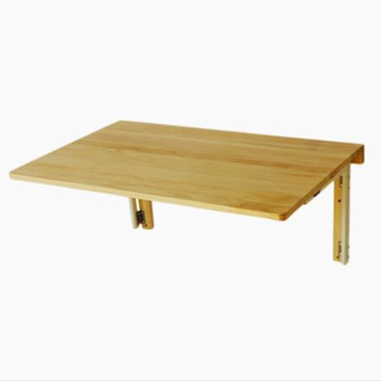 NAN Pine Wood Wall Tables Folding Table Desk Dining Table Study Table Computer Desk 80  50cm Folding Tables