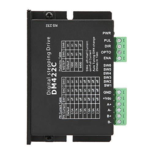 DM422C controlador de motor paso a paso 2 Fase digital 24V-36V DC 0.3A-2.2A, driver de motor sirve para máquina de grabado//herramienta CNC