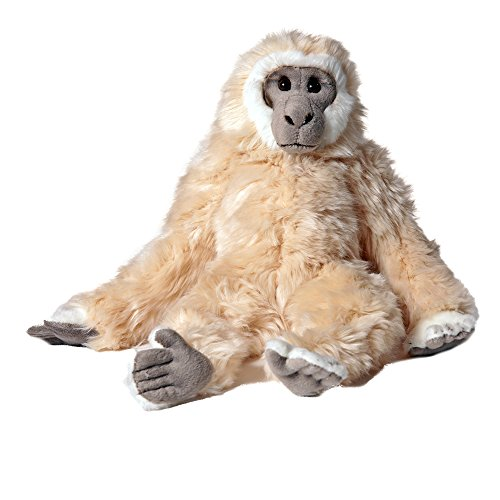 Pamer-Toys Plüschtiere, Stofftiere, Kuscheltiere - Gibbon AFFE, beige