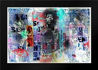 Jimmy Hendrix Framed Art Print by Baker, Micha