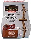 Le Veneziane mini grissini con Sesamo e chia / Grissini Maismehl mit Sesam 3,3% und Chiasamen 0,8% 6 X 250g = 1500g -