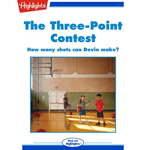 The Three-Point Contest audiobook cover art