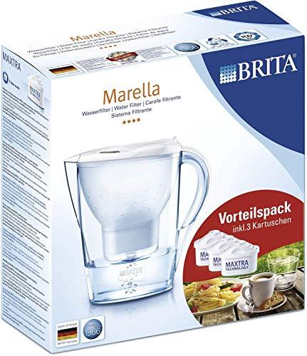Preisvergleich Produktbild Brita BellaItalia Wasserfilter Marella Cool,  kartuschen,  3 Stück