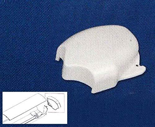 Fiamma F65 Eagle 932943830 - Tapa para toldo (derecha), color blanco