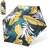 sombrilla Mini Paraguas Plegable, Paraguas De Sol Anti UV para Mujer, Paraguas Compacto A Prueba De Viento Paraguas Soleado(Color:A)