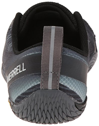 Merrell Women's Vapor Glove 2 Trail Running Shoe, Black/Castle Rock, 8 M US
