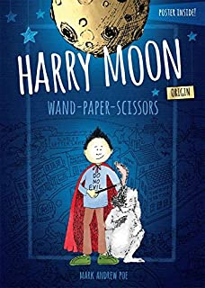 harry moon wand paper scissors