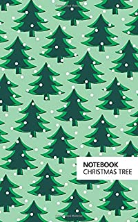 Christmas Tree Notebook: (Light Green Edition) Fun Notebook 96 Ruled/Lined Pages (5x8 inches / 12.7x20.3cm / Junior Legal ...