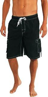 fbb4fa1ea779c NORTY Mens Big Extended Size Swim Trunks - Mens Plus King Size Swimsuit  Thru 5X
