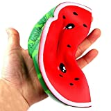 Bluelans Slow Rising Squishies Squeeze Toys,Cute Watermelon Shape Anti Xmas Gifts Christmas Party Favor Party Bag Stocking Fillers