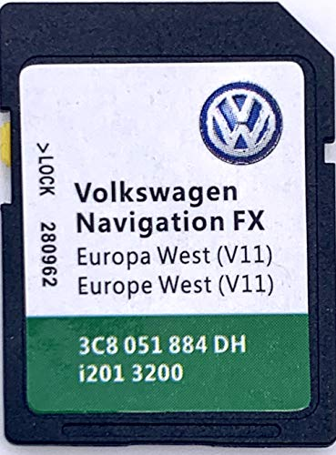 VW SD-Karte Osteuropa FX für RNS 310, Version V10-3C8051884DB