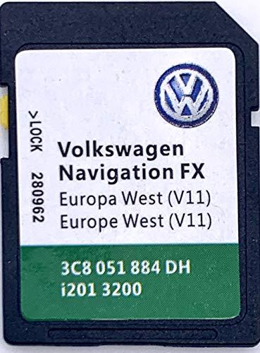 VW RNS 310 Navi Update SD Karte V10 Westeuropa