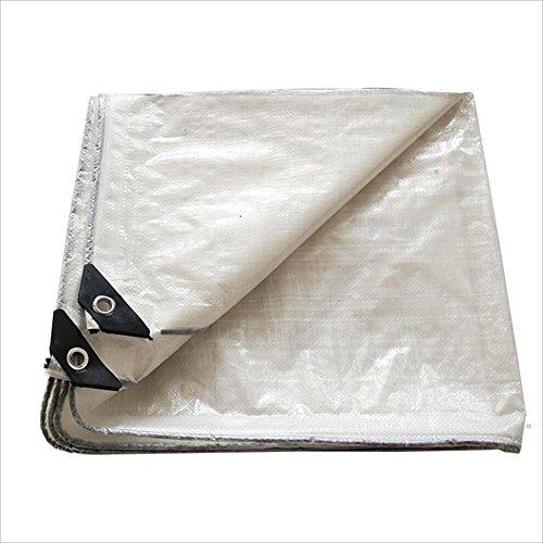 LI MING SHOP-Tents tentes extérieur Tente Bâche Polyvalente épais Translucide Double Face imperméable Crème Solaire Coupe-Vent Chiffon Bâche Housse de Voiture d'une variété de Tailles + + 5 x 6 m