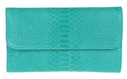 Girly Handbags bolso gamuza estampado serpiente cuero