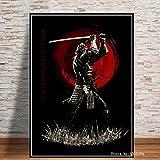 Japanische Japan Samurai Bushido Poster Moderne Künstler