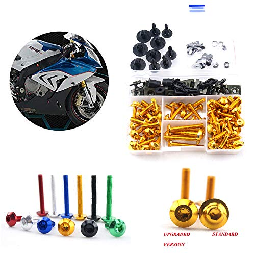 Complete Fairing Bolt Screws Kit for Suzuki GSX1300R Hayabusa 1999-2007 00 01 02