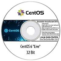 CentOS 6 Live (32Bit) - Bootable Linux Installation DVD