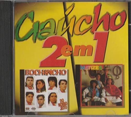 Cd Gaúcho 2 Em 1 - Bochincho - Do Nosso Jeito - 1994 / Grupo Matizes