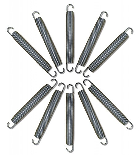 Gigajump®, 10 ressorts de rechange pour trampoline 175 mm / 17,5 cm (#301089)