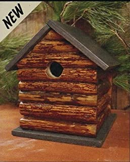 Adventure Marketing Log Cabin Birdhouse