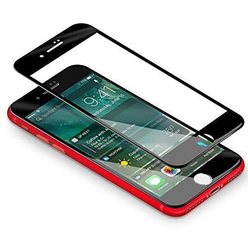 iPhone 7 8 Panzerglas, Coolreall 3D Full Coverage Screen Curved Schutzfolie für iPhone 7/ iPhone 8 4,7