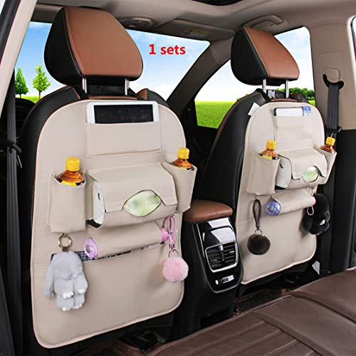 zhouweiwei Organizador del Coche Multi-Pocket Car Auto Phone Pocket Pouch Car Asiento...