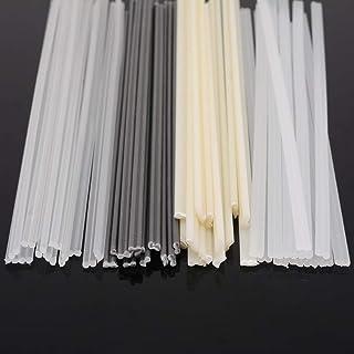 F-Jiujin-rsg 50pcs ABS/PP/PVC/PE Plastic Welding Rods Sticks 200x5x2mm With Corrosion Resistance For Plastic Welder (Size ...