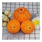 HONGTAI Seifenherstellung Mold 3D-orange Frucht-Kerze-Silikon-Form-Formular Handgemachte Harz-Lehm-Crafts-Kuchen, Die Werkzeuge (Size : Big)