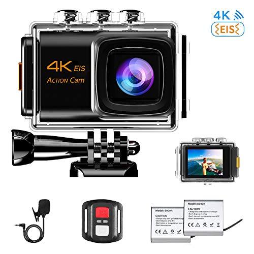 NINE CUBE Action Camera 4K Ultra HD WiFi 20MP, Fotocamera...