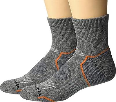 Columbia Balance Point Walking - Quarter 2-Pack Charcoal 10-13 (Shoe Size 6-12 US Men's)