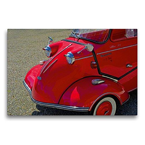 CALVENDO Premium Textil-Leinwand 75 x 50 cm Quer-Format Messerschmitt KR 200 Kabinenroller, Leinwanddruck von Ingo Laue