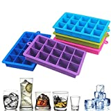 CTOBB Stampi in Silicone per ghiaccioli Fai da Te per Gelato e Gelato Utensili da Cucina Purple