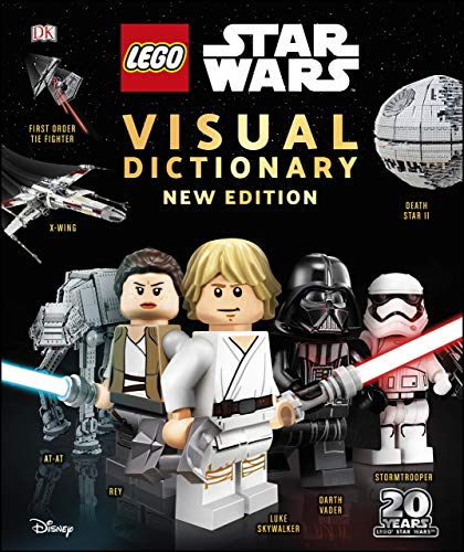 LEGO Star Wars Visual Dictionary New Edition: With exclusive Finn minifigure (English Edition)