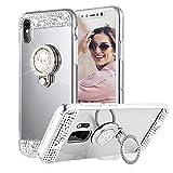 Galaxy A80 Coque, Galaxy A90 Coque, Gift_Source [argent] Souple Silicone Caoutchouc Etui Miroir...